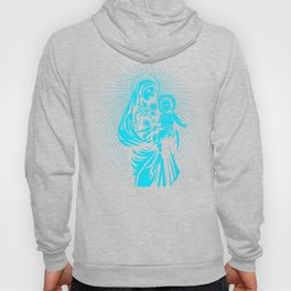 mary mother of god  Hoody