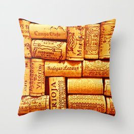 Every Which Way Rioja Throw Pillow