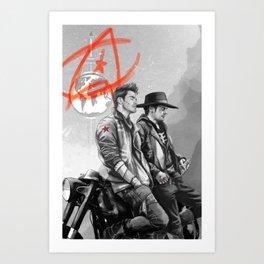 Rebels Art Print