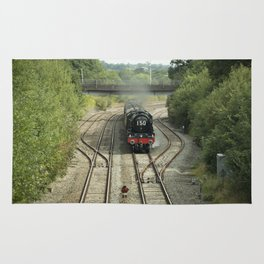 Royal Scot at Tiverton Junction Rug