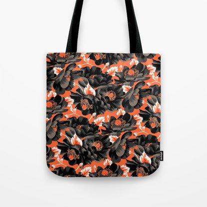 Mount Cook Lily - Orange/Black