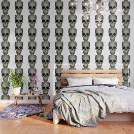 Human Skull Vector Isolated Wallpaper