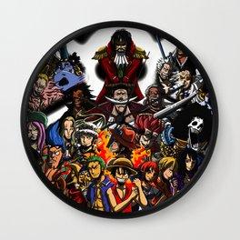 Pirate one piece Wall Clock