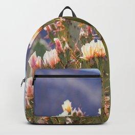 Prickly Pear Cactus Blooms, II Backpack