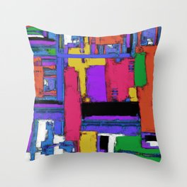 The big room Throw Pillow