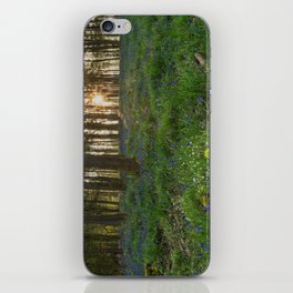 Bluebell Sunrise iPhone Skin
