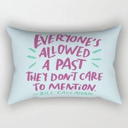 Bill Callahan Rectangular Pillow