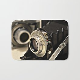 Old camera Bath Mat
