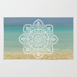 Beach Mandala Rug
