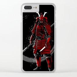 Circle of the samurai Clear iPhone Case