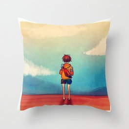 Popsicles Throw Pillow