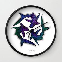 SHARK CIRCLE II Wall Clock