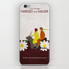 Harold and Maude iPhone Skin