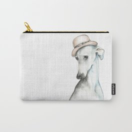 Bowler hat greyhound_ Illustrious dogs. Carry-All Pouch