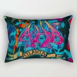 ATL Graffiti Rectangular Pillow