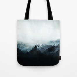 Mountain Peaks Tote Bag