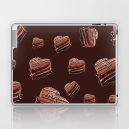 Heart chocolate cake  Laptop & iPad Skin