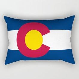 flag colorado,america,usa,south,desert, The Centennial State,Coloradan,Coloradoan,Denver,Springs Rectangular Pillow