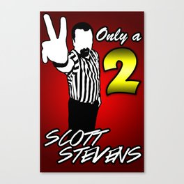 2 Count! Canvas Print