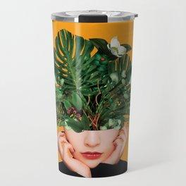 Lady Flowers || Travel Mug
