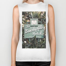 The Beverly Hills Hotel - Vertical Biker Tank
