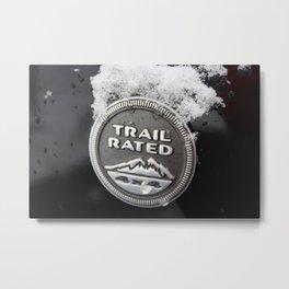 Trail Rated Jeep Metal Print
