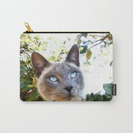 Siamese Cat in Tree Carry-All Pouch