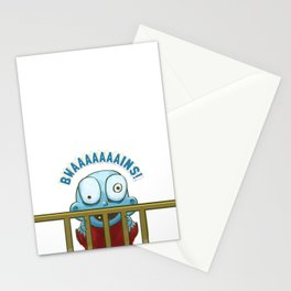 Nobody puts Baby Zombie in a corner! Stationery Cards