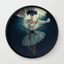 Columbina moonlight Wall Clock