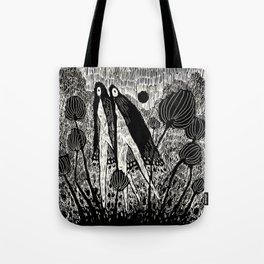Veils Dark Tote Bag
