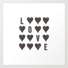 BLACK LOVE CULT 2 Art Print