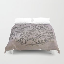 Vintage Constellations & Astrological Signs | Beetroot Paper Duvet Cover