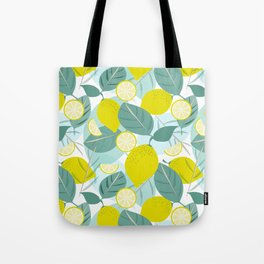Lemons and Slices Tote Bag