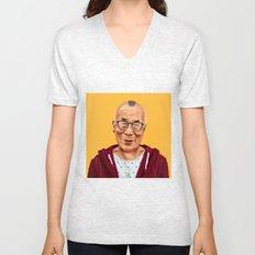 Hipstory -  Dalai Lama Unisex V-Neck