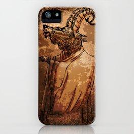 GOAT THRONE iPhone Case