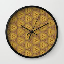 Trilateral Wall Clock