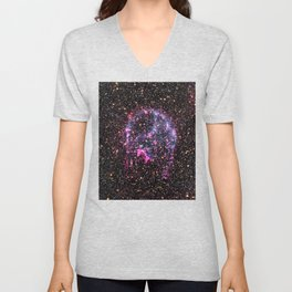 Purple Supernova Unisex V-Neck