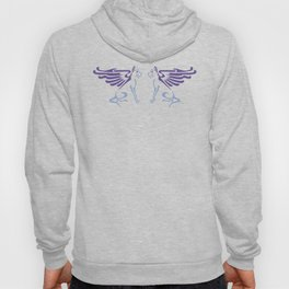 Myths & Monsters: Winged dog Hoody