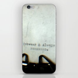 Forever and Always TTV iPhone Skin