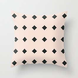 Crosshair Pattern Throw Pillow