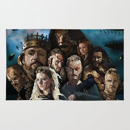 Vikings Tribute Rug