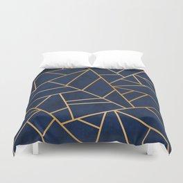 Art Deco Blue Duvet Cover
