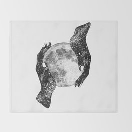 The Magic of the Universe Throw Blanket