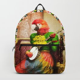 Banjo Birdy Plucks a Pretty Tune! Backpack