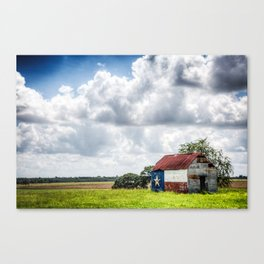 Texas Barn Canvas Print