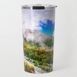 Autumn in Mountains Travel Mug