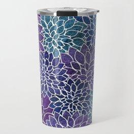 Floral Abstract 22 Travel Mug
