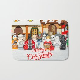 Star war Christmas Bath Mat