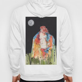 Full Moon Witch Hoody
