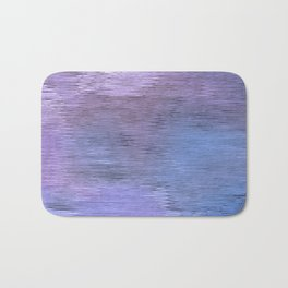 Abstract blue background Bath Mat